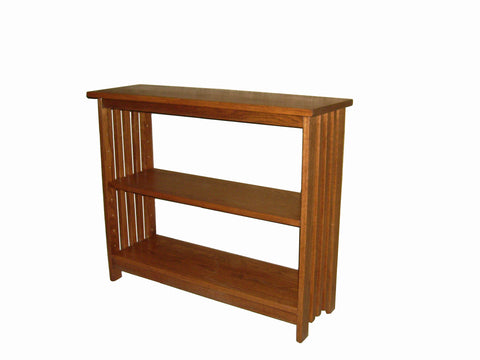Mission Slatted Bookcase