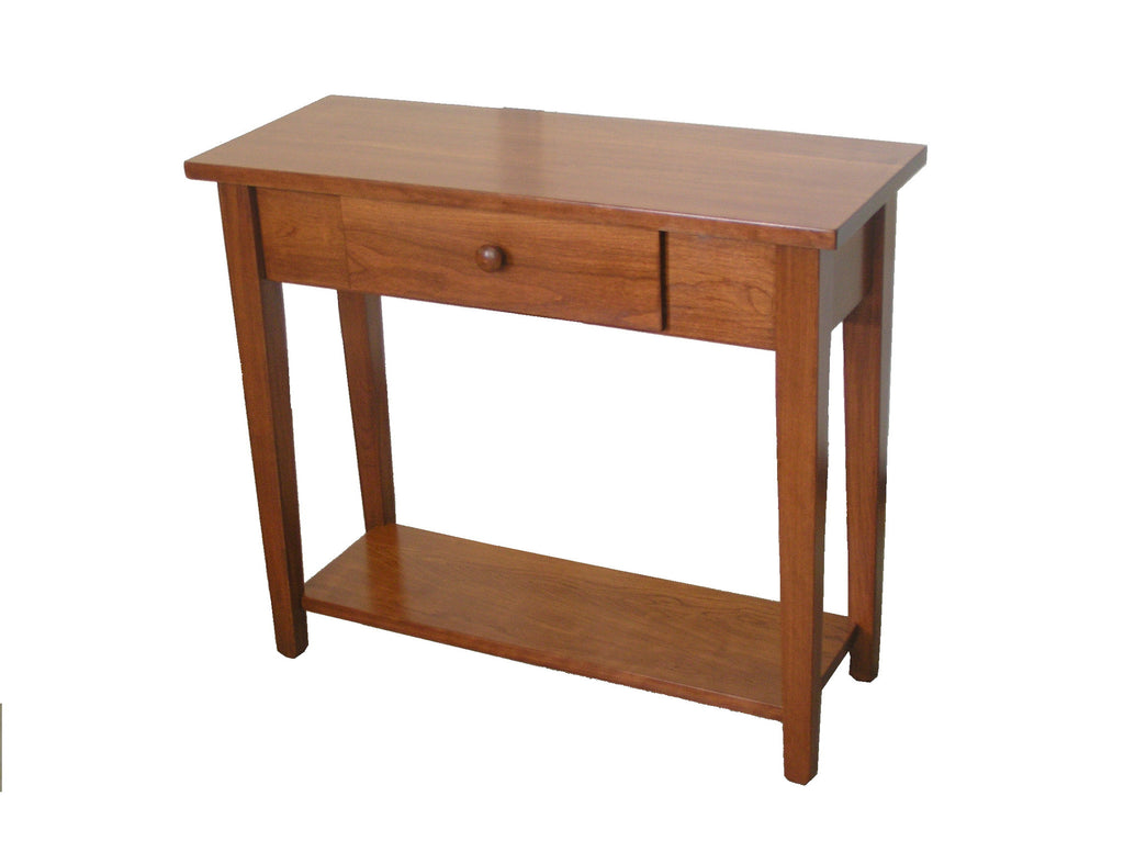 Shaker Sofa Table Small Oak Crafts Inc
