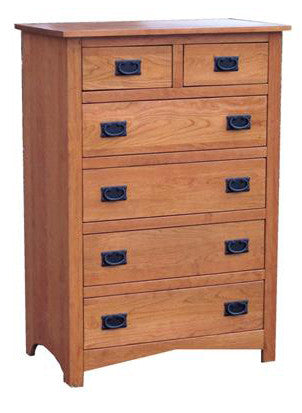 Sierra Mission 6-Drawer Chest