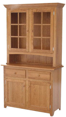 "42"" Shaker Hutch and Buffet"