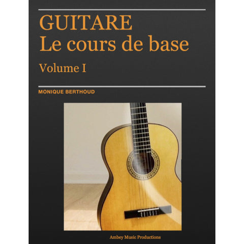Méthode de guitare - PDF + fichiers audio (French Method)