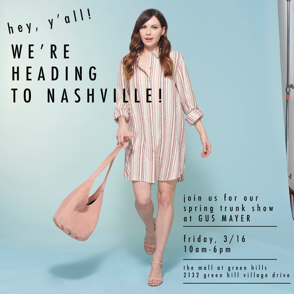 Spring Trunk Show at Gus Mayer, Nashville!