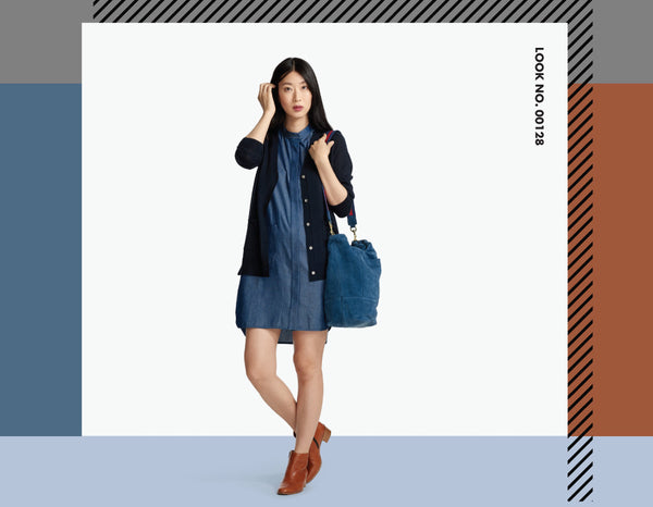 GET THE LOOK: THE DENIM SHIRTDRESS