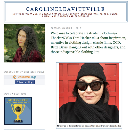 Interview with novelist Caroline Leavitt