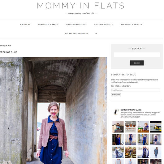MOMMY IN FLATS: BUILDING A CAPSULE WARDROBE