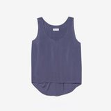 Thacker Aurora tank in cadet blue
