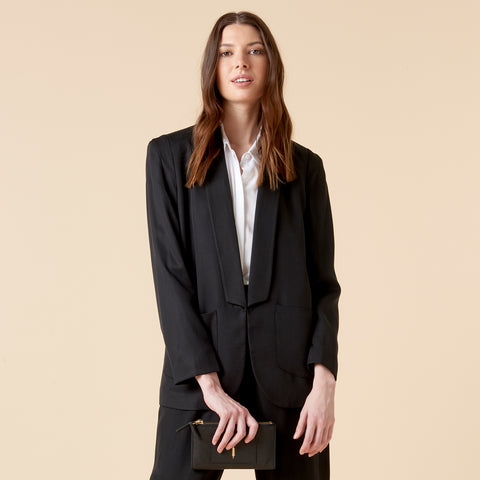 COCO TRENCH - BLACK