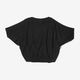 Thacker Dakota batwing sweater black