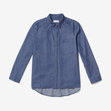 Thacker Dixon boyfriend shirt denim
