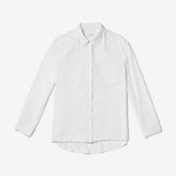 Thacker Dixon boyfriend shirt white