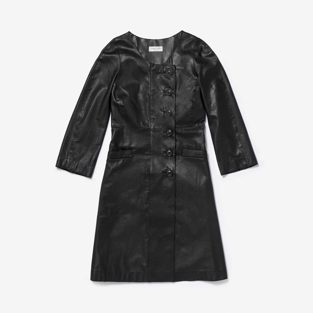 Thacker Emerson coat black