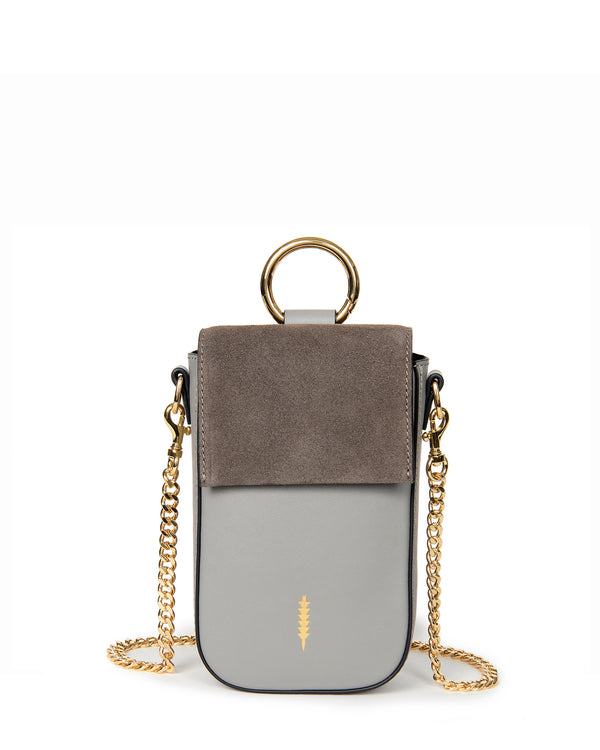 Farrow Travel Phone Crossbody- Asphalt