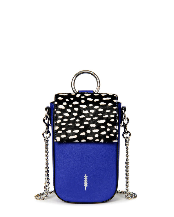 Farrow Travel Phone Crossbody-Persian Blue