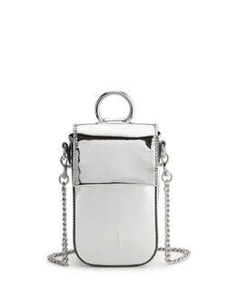 Farrow Travel Phone Crossbody-Silver