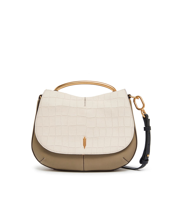 Nola Shoulder Bag-Gardenia/Taupe
