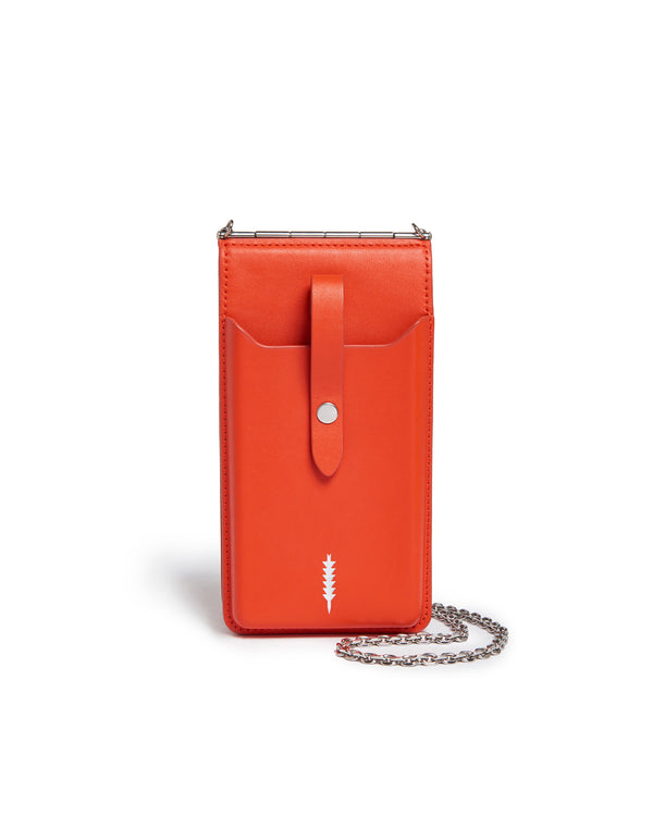Nora Phone Crossbody-Chili
