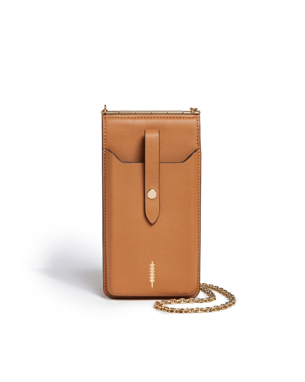 Nora Phone Crossbody-Miel