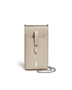 Nora Phone Crossbody-Taupe