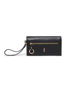 Eve Crossbody Wallet-Black