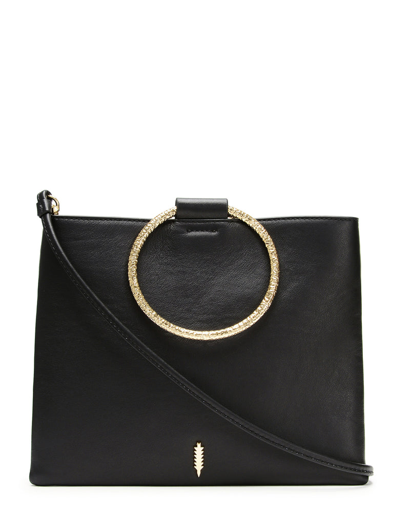 Le Pouch Hammered-Black