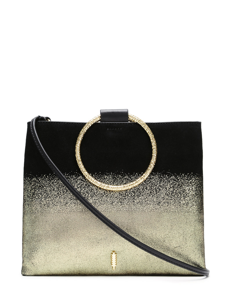 Le Pouch Hammered-Gold Ombre