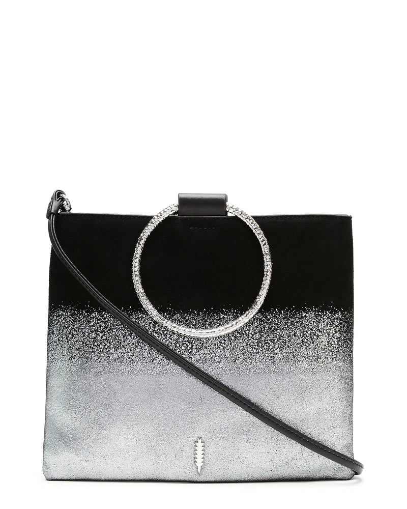 Le Pouch Hammered-Silver Ombre