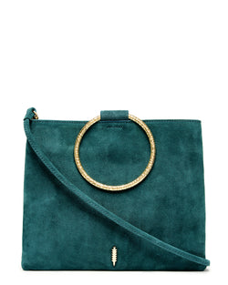 Le Pouch Hammered-Dark Teal