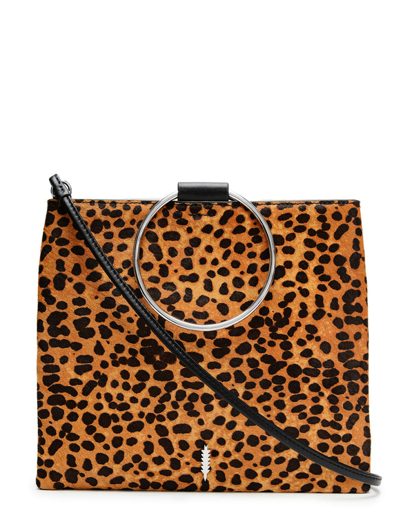 Le Pouch-Black/Cheetah