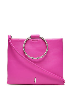 Le Pouch Twisted-Fuchsia