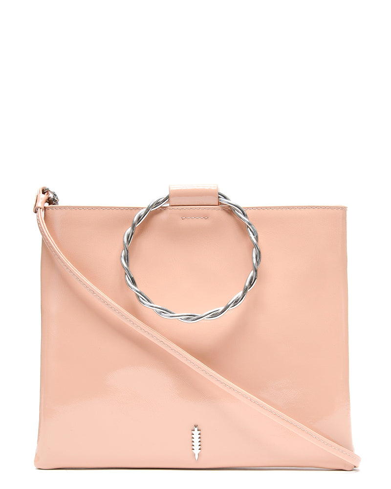 Le Pouch Twisted-Vintage Rose