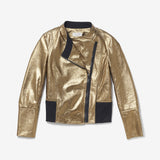 Thacker Liam moto jacket gold