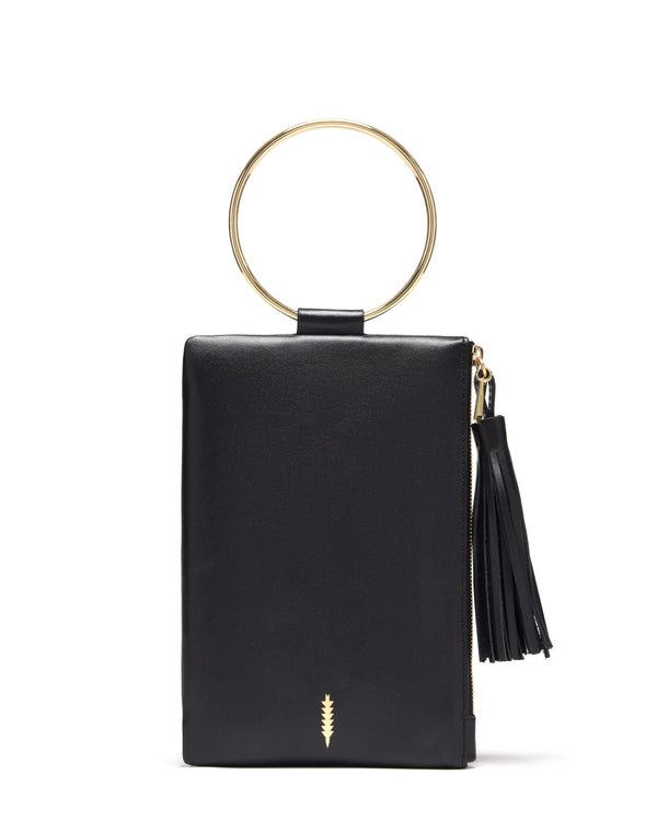 Nolita Clutch-Black/Gold