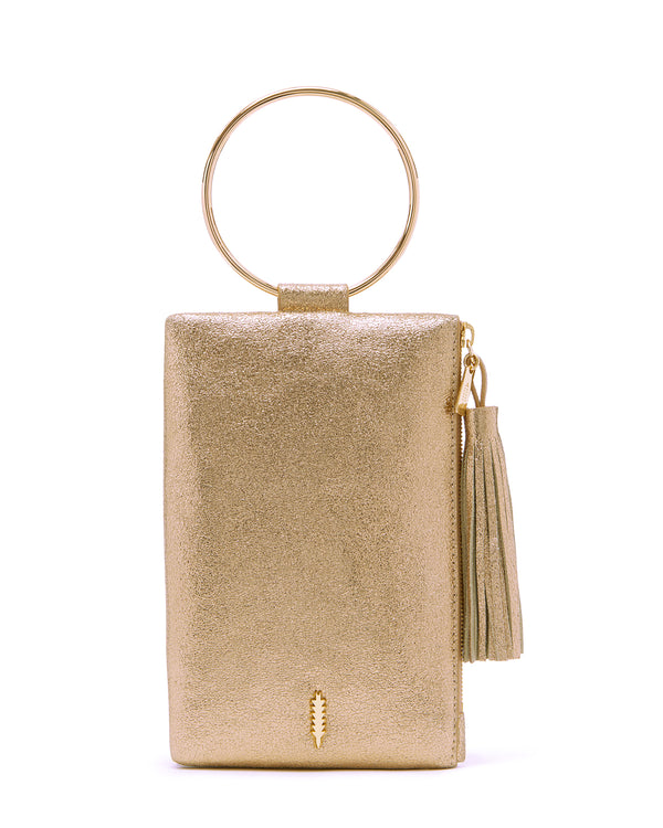 Nolita Clutch-Dark Gold