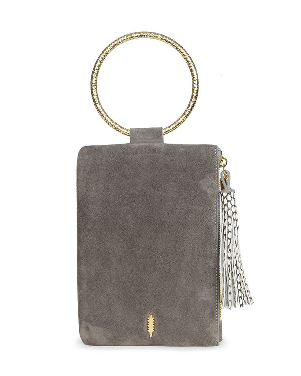 Nolita Clutch Hammered-Asphalt
