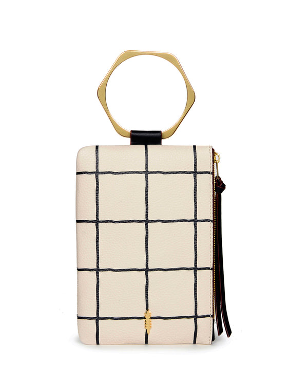 Nolita Clutch Hexa-Windowpane