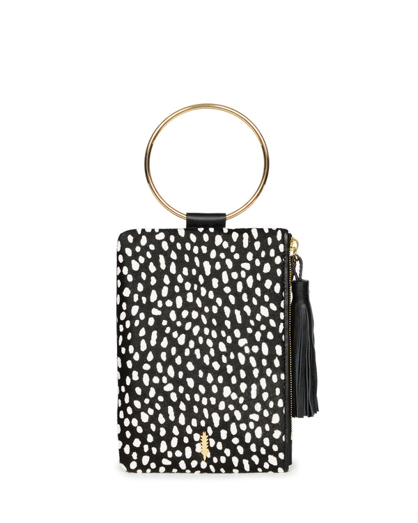 Nolita Clutch-Black Spotted