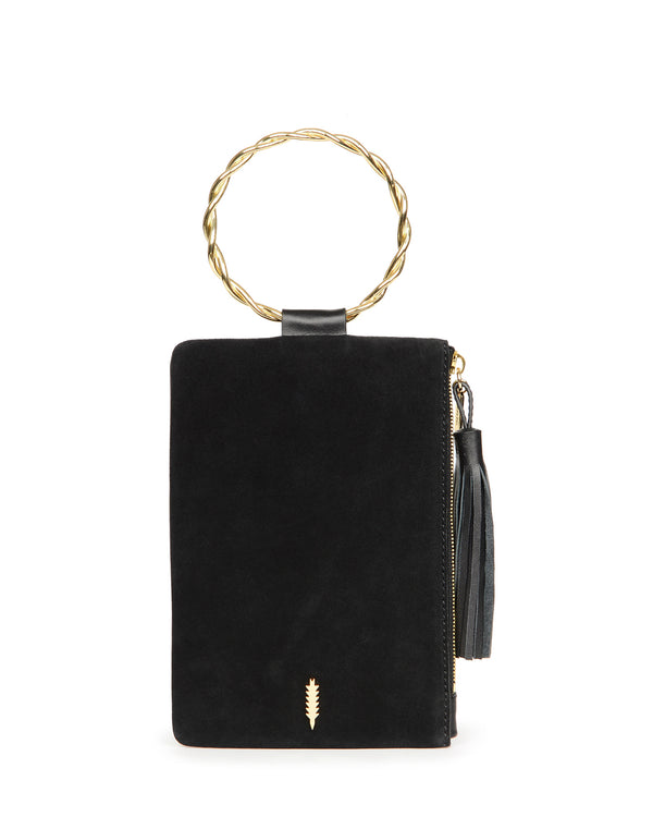 Nolita Clutch Twisted-Black