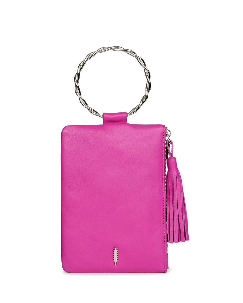 Nolita Clutch Twisted-Fuchsia