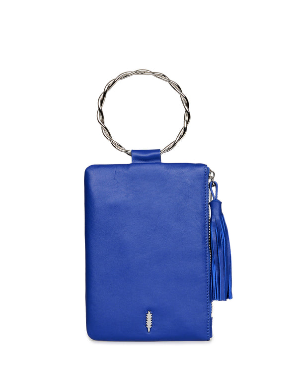 Nolita Clutch Twisted-Persian Blue