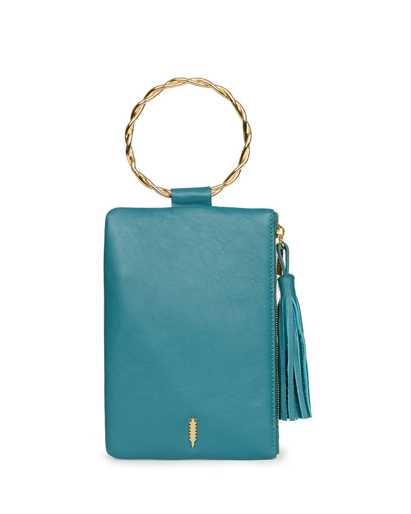 Nolita Clutch Twisted-Sea Green