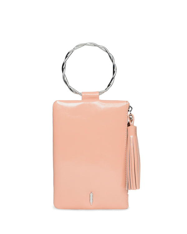 Nolita Clutch Twisted-Vintage Rose