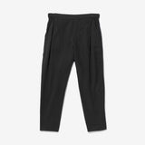 Thacker Ren draped crop pant black
