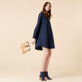RIVA SHIRTDRESS - NAVY