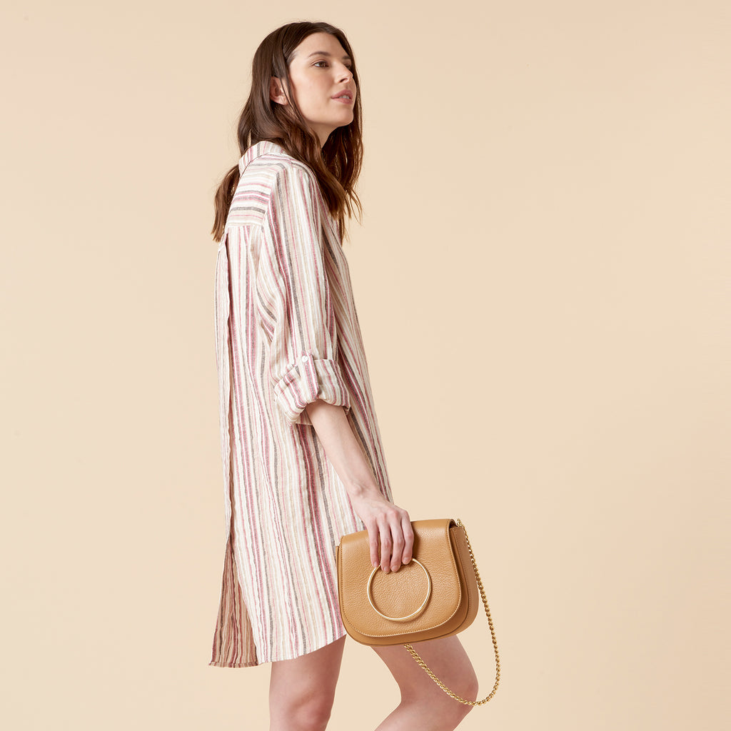 RIVA SHIRTDRESS - NANTUCKET STRIPE