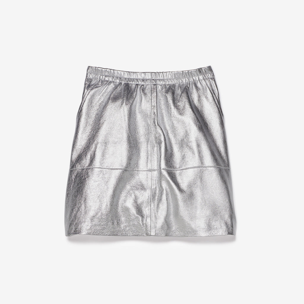 LYDIA SKIRT - SILVER