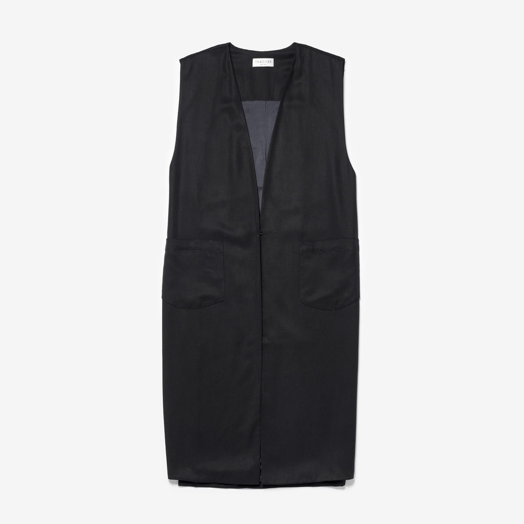 MADRID VEST - BLACK