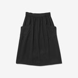 Thacker Valerie midi skirt black
