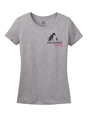"Women's 5 oz Cotton Shirts with slogan on back; ""Bad Decisions Make Great Stories"""