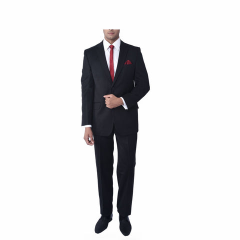Navy Blue Bandhgala Suit