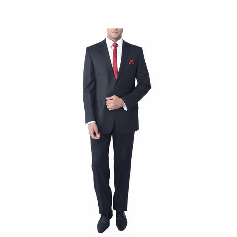 Techno Steel Bandhgala Suit